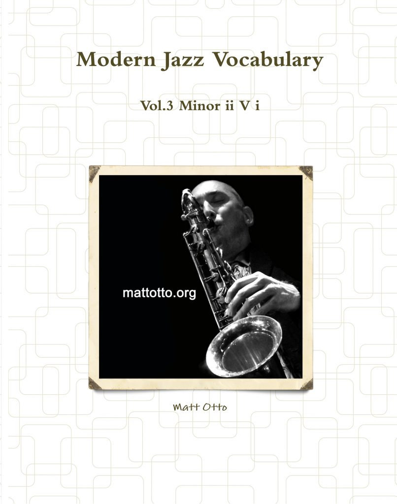 Modern Jazz Vocab. Vol. 3